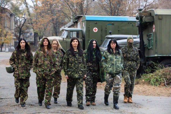 Волонтеры из Днепропетровского военного госпиталя