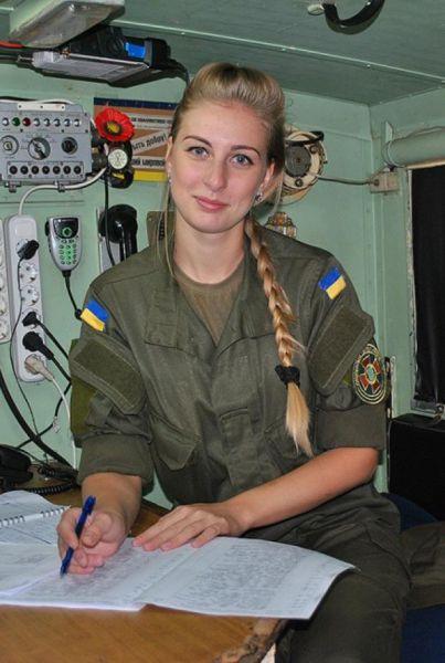 Связист Ирина Слабченко