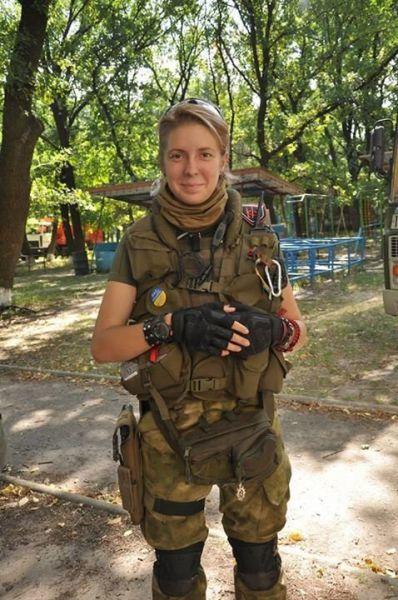 Командир медицинской бригады «Правого сектора» Яна Зинкевич