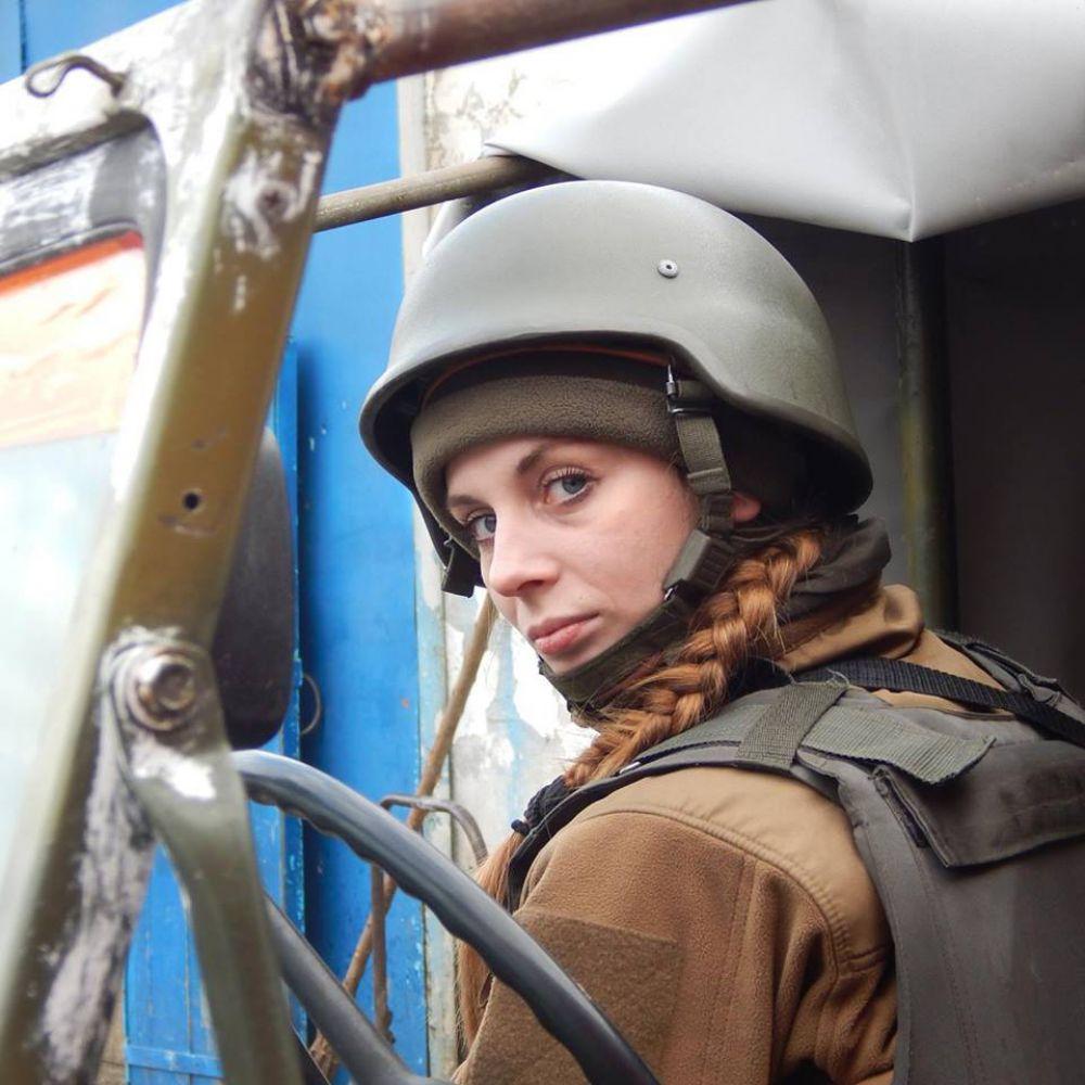 Военный журналист Наталья Коцкович