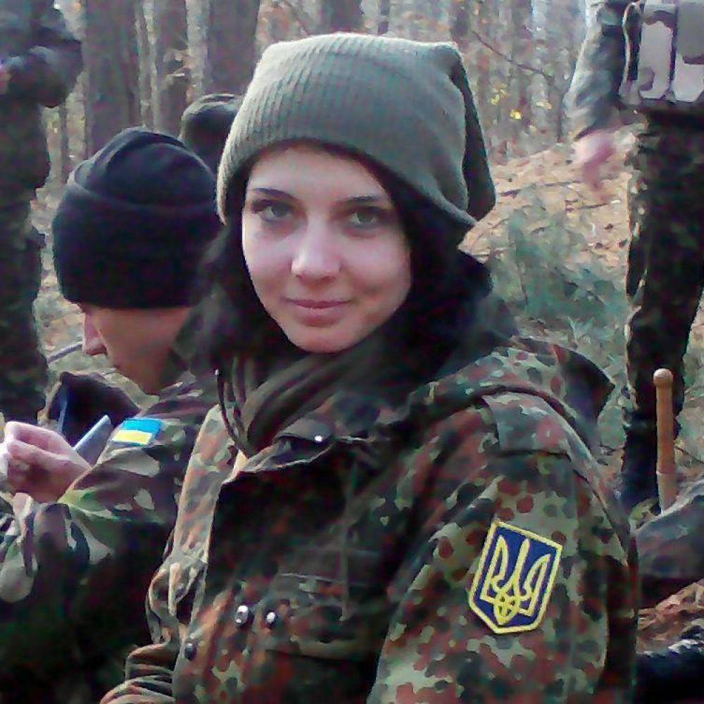 Волонтер Виктория Резниченко