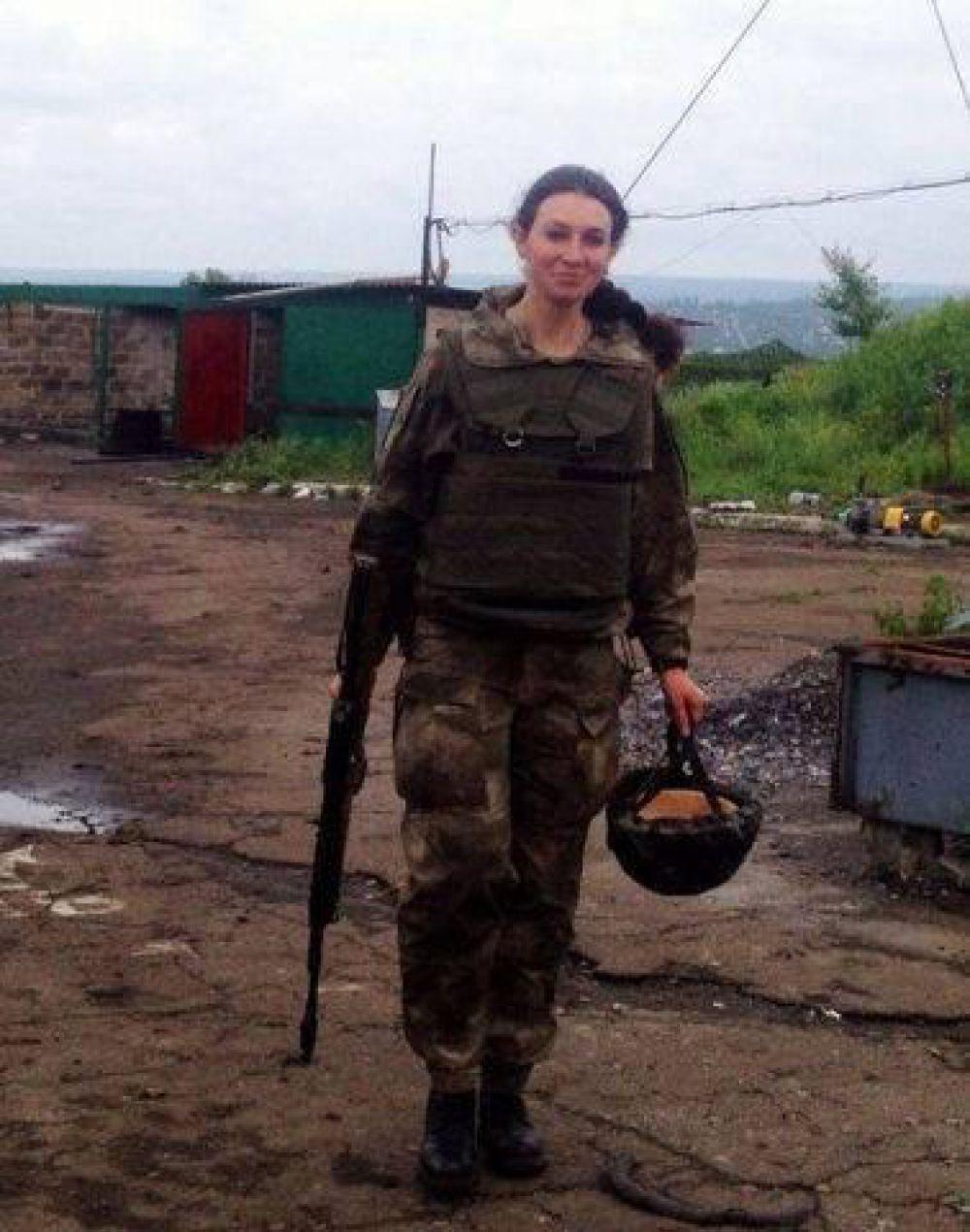 Солдат 79-й Николаевской аэромобильной бригады  Ксения Алейникова