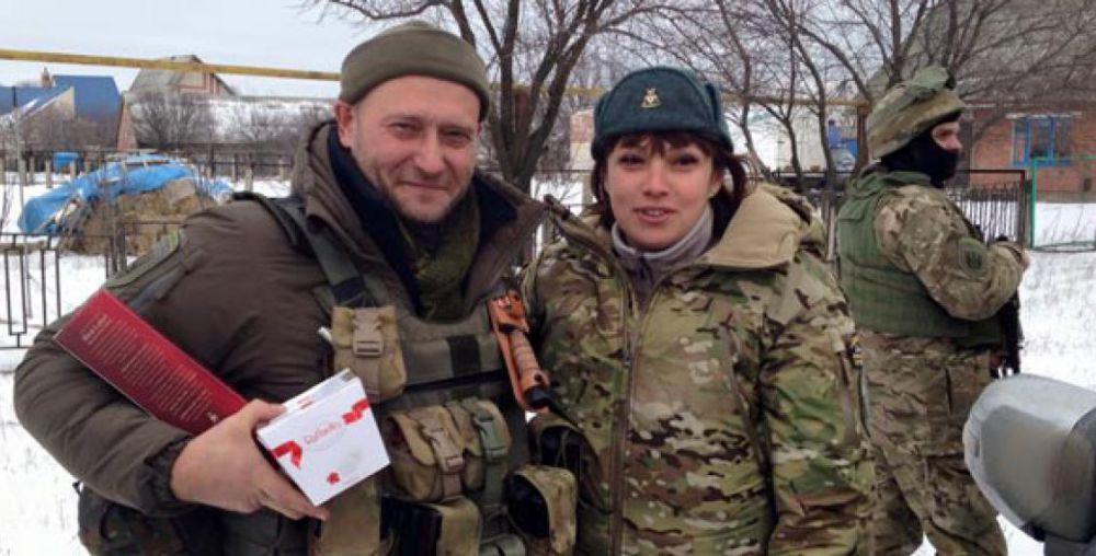 Волонтер Татьяна Рычкова