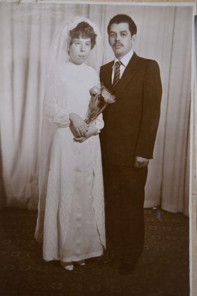 Пара №13. Василий и Светлана Ретины, в браке 32 года. Фото сделано в 1983 году.