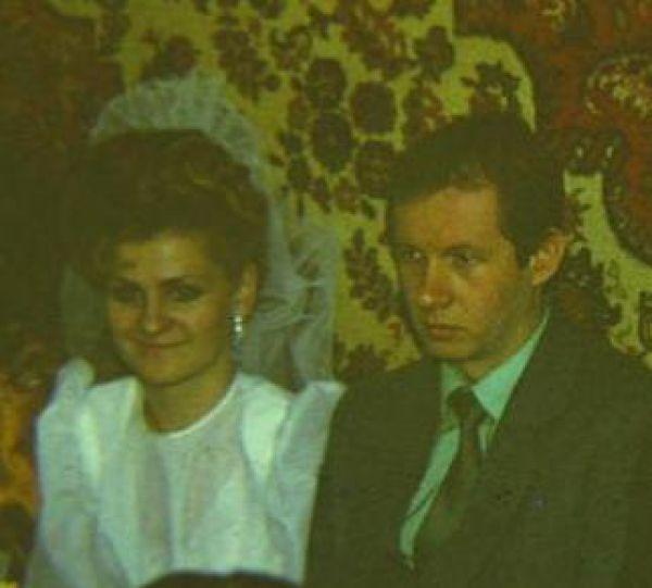 Пара №1. Прошунины, в браке 28 лет. Фото сделано в 1987 году.