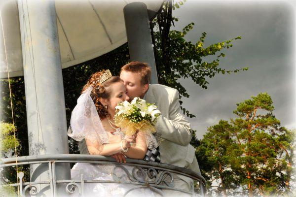 Пара №9. Елена и Евгений, в браке 6 лет. Фото сделано в 2009 году.