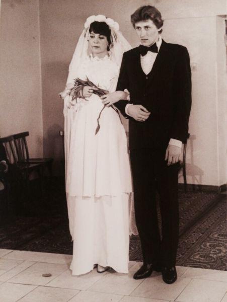 Пара №2. Николай и Ирина Сыромятниковы, в браке 31 год. Фото сделано в 1984 году.