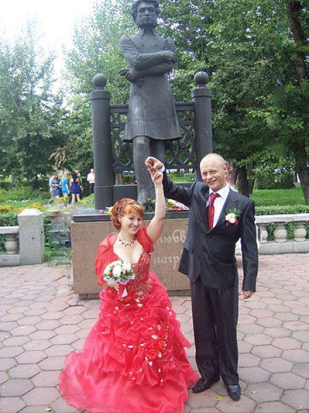 Пара №5. Владимир и Елена Бутенко, в браке 6 лет. Фото сделано в 2009 году.