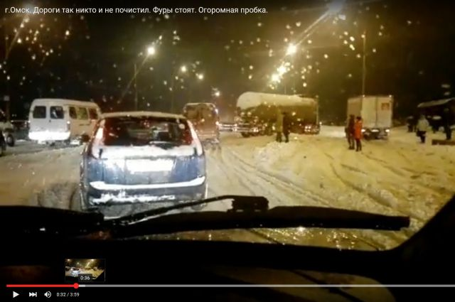 «Дни жестянщика» пришли в Омск вместе с аномальным снегопадом.