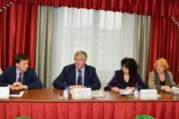 Комиссия по отбору кандидатов на пост мэра Ачинска.