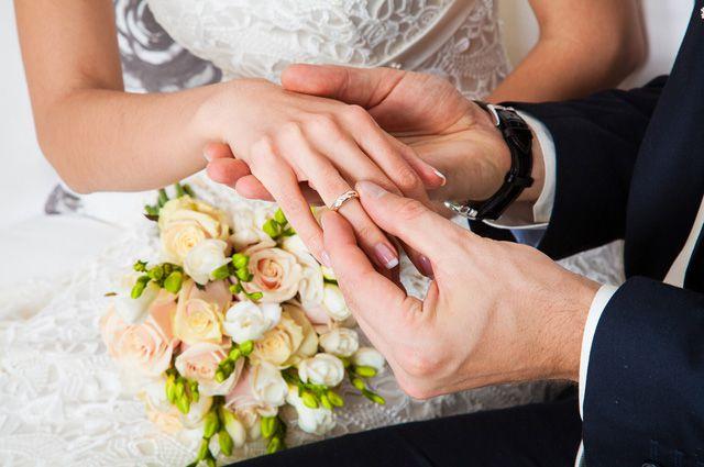День свадьбы был выбран не случайно.