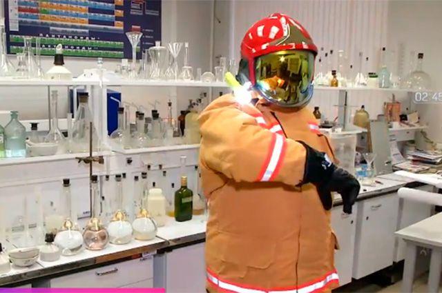 Уникальный защитный костюм, созданный российскими учёными.