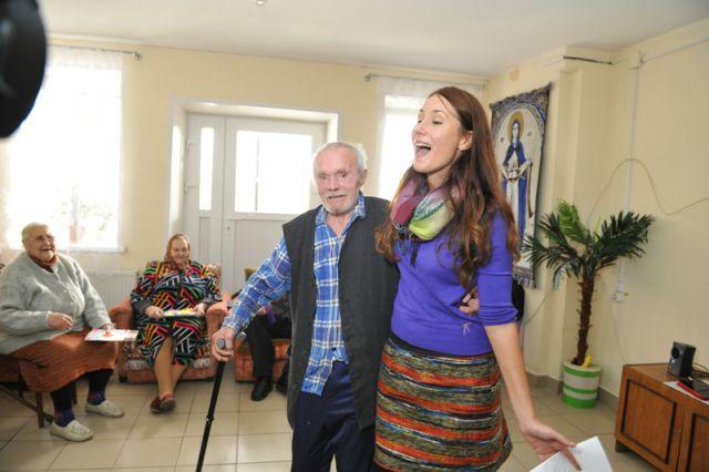 проект дома интерната для пожилых людей