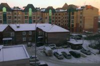 Один из дворов Ханты-Мансийска.