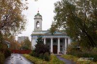 Храм на Лазаревском кладбище. Район Марьина Роща.