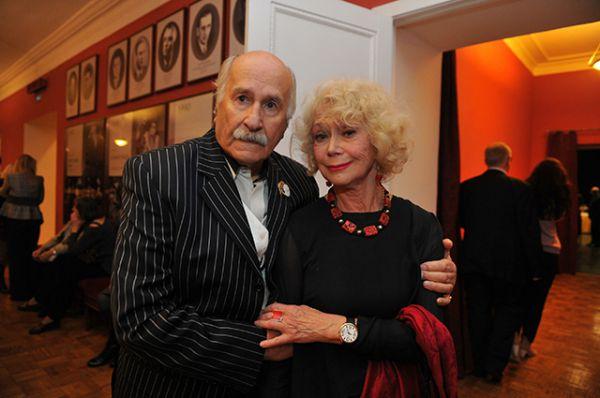 2011 год. Владимир Зельдин и Светлана Немоялева в театре Вахтангова.