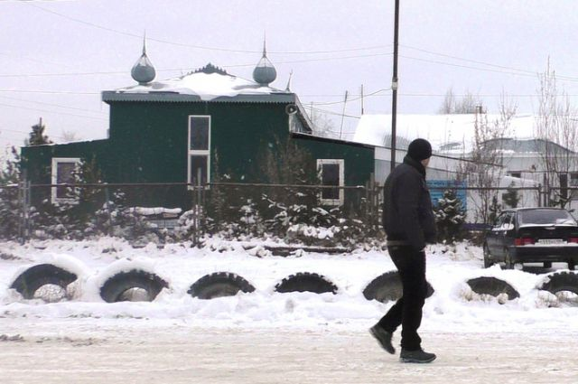 Та самая мечеть, возле которой мог произойти взрыв.