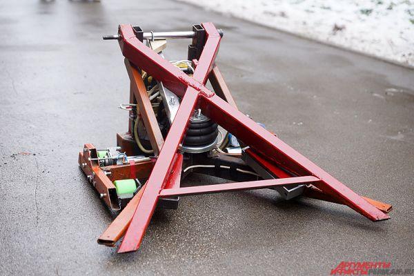 Другой «гладиатор» Битвы роботов - «Пневмотрон».