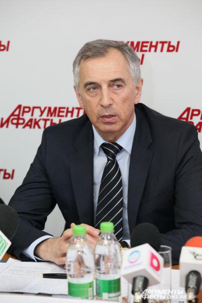 Министр строительства и инфраструктуры Челябинской области Тупикин Виктор Александрович.