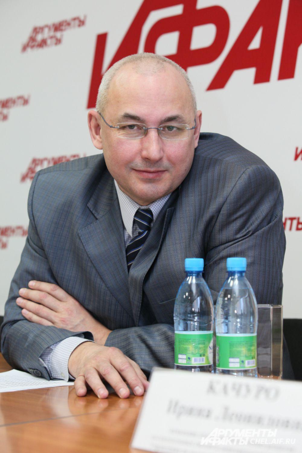 Министр образования и науки Челябинской области  Кузнецов Александр Игоревич.