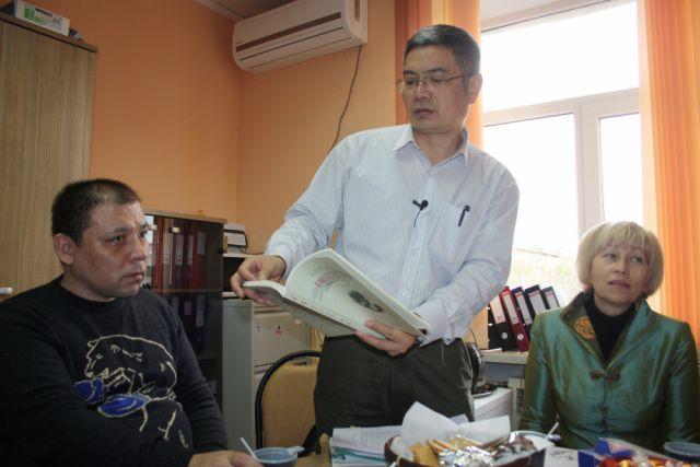 Китайская делегация в Оренбурге.