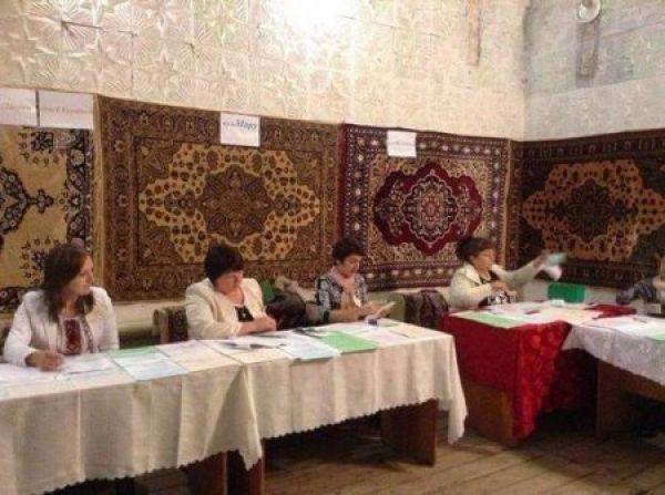 Уютная атмосфера на выборах на Закарпатье