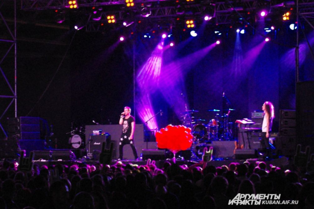 Animal ДжаZ на сцене Greenfest.