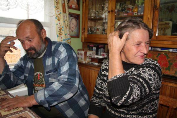 Супруга Людмила -  первая помощница и великая рукодельница.