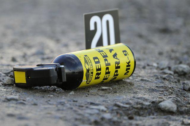 Рядом с погибшим обнаружен  газовый баллончик.