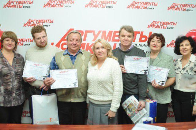 Победители конкурса получили «тёплые» призы и памятные подарки.