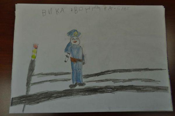 8. Вондра Вика,  6 лет