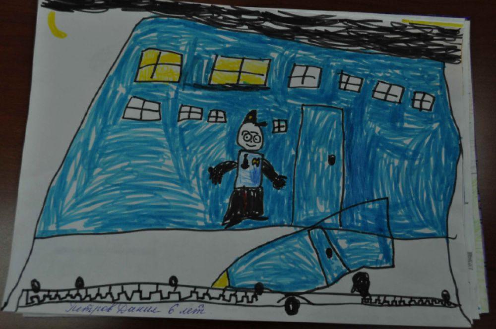 13. Петров Даниил, 6 лет