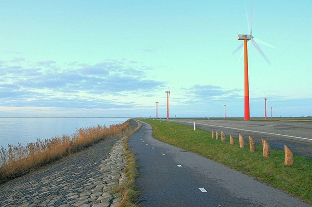 Провинция Флеволанд – крупнейший в мире искусственный остров, расположенный в  Нидерландах на осушенной территории озера Эйсселмер.