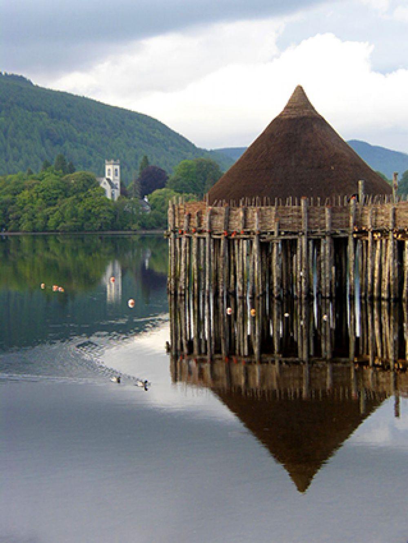 В настоящее время реконструированные кранноги можно увидеть на шотландском озере Лох-Тей и в Краггауновене в Ирландии.