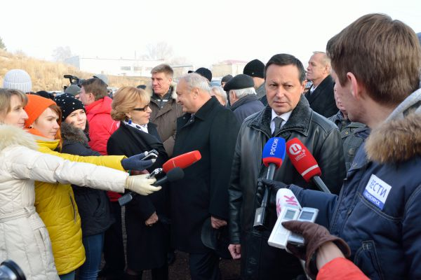 Петр Пимашков один из тех, кто дал старт строительству моста.