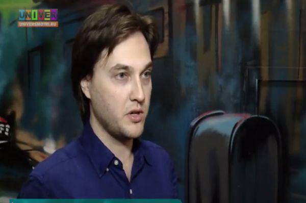 Кирилл Шарафутдинов. Экс-солист группы Juke Box, которая в 2006 году стла призером конкурса «Новая волна».