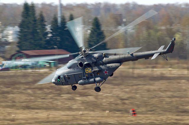 Роман Титков смог лично сесть за штурвал вертолета.