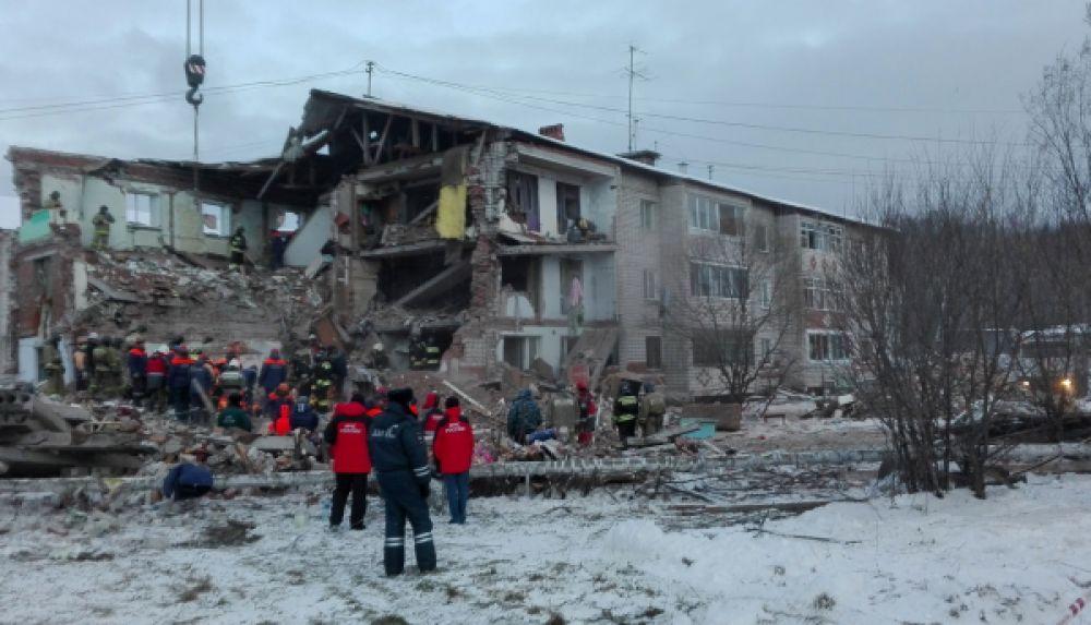 Ранее сообщалось, что под завалами могли оказаться 17 человек.