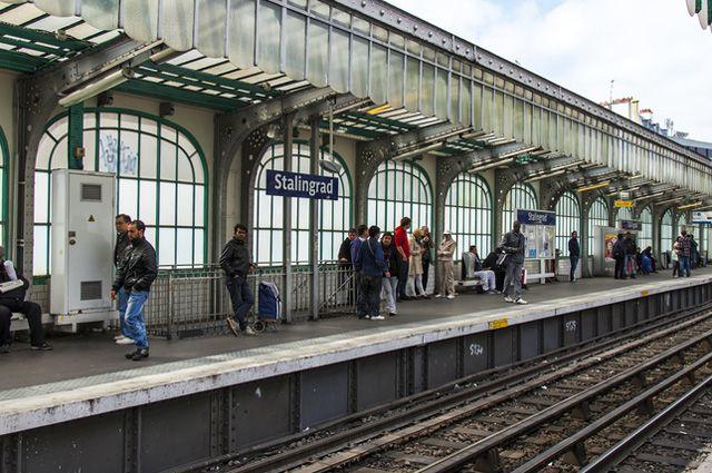 Станция «Сталинград» в Париже/