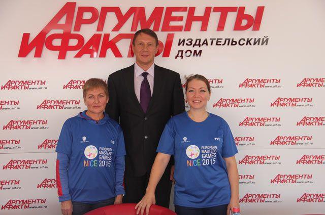 Вера Измоденова, Дмитрий Беликов и Вероника Песчинская
