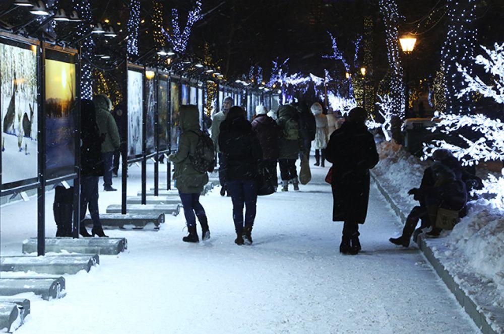 Москвичам также было предложено решить самим, каким должно быть световое оформление столицы в преддверии Нового года.