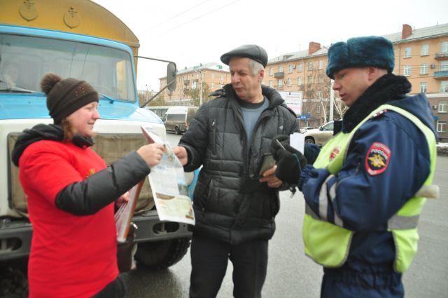 Омских автомобилистов поздравили с профессиональным праздником.