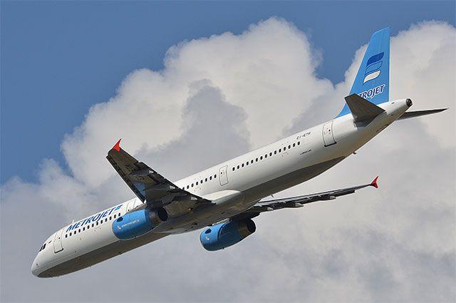 Российский пассажирский самолет пропал в пути из Египта