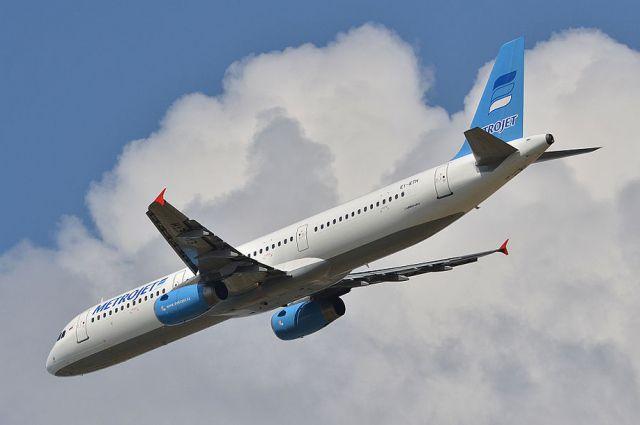 Самолет компании Metrojet (