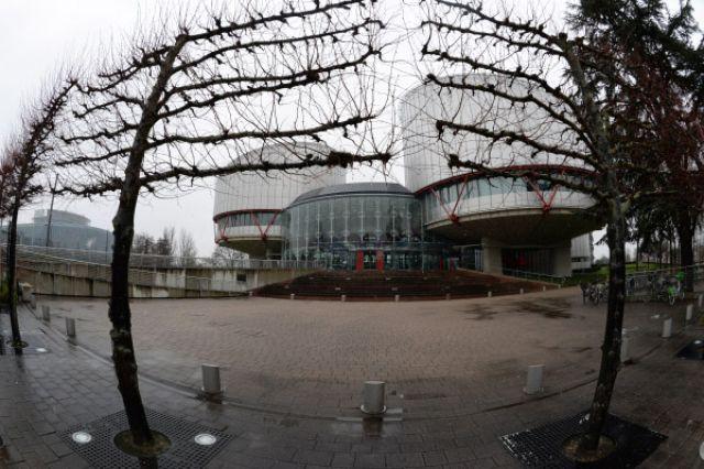 Дворец прав человека в Страсбурге, в здании которого расположен Европейский суд по правам человека.