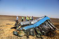 Обломки разбившегося Airbus 321.