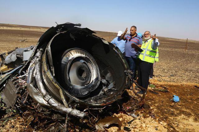 СМИ: Спутник США заметил тепловую вспышку над Синайским полуостровом во время крушения A321