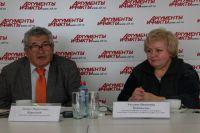 Леонид Корытный и Татьяна Коновалова