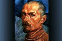 Автопортрет. Кузьма Петров-Водкин. 1918 год.