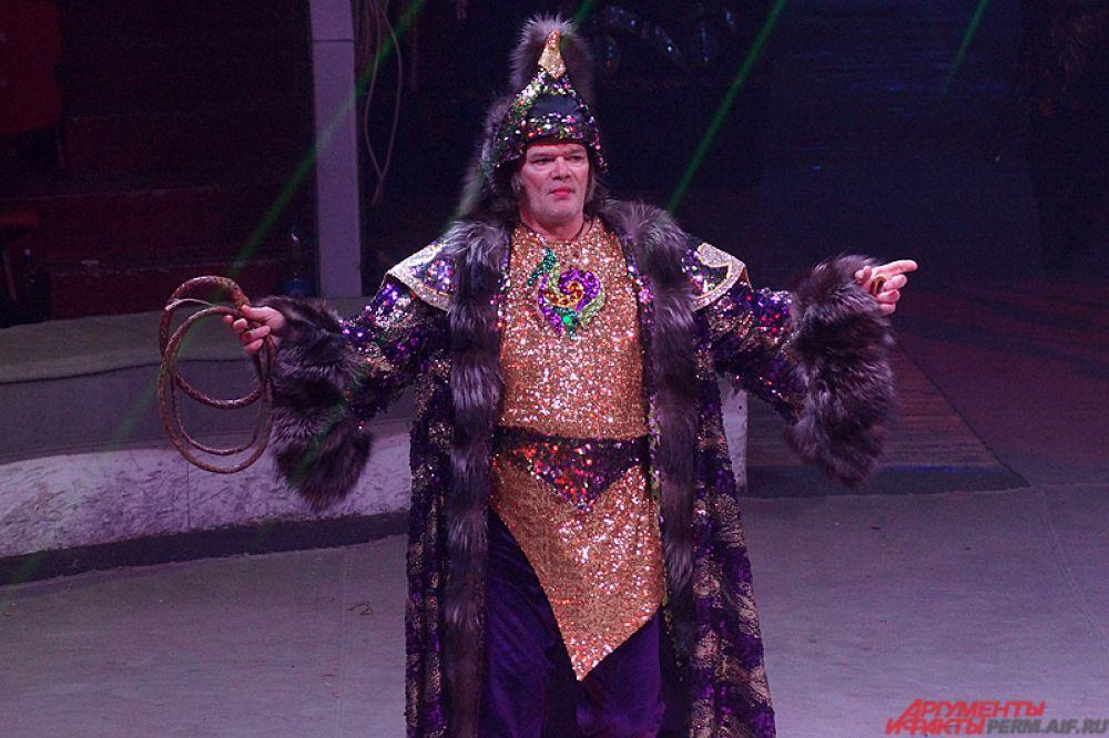 Репетиции в пермском цирке длятся по несколько часов.